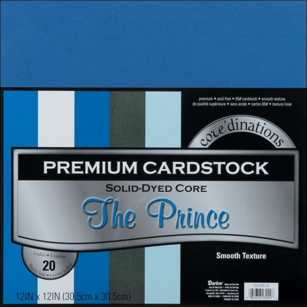 Core'dinations Premium Smooth The Prince Cardstock