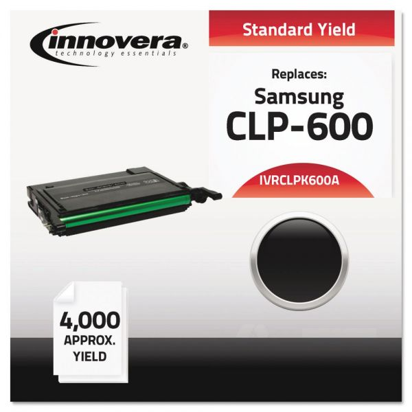 Innovera Remanufactured Samsung CLP-K600A Toner Cartridge
