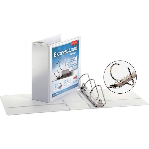 """Cardinal ExpressLoad 4"""" 3-Ring View Binder"""