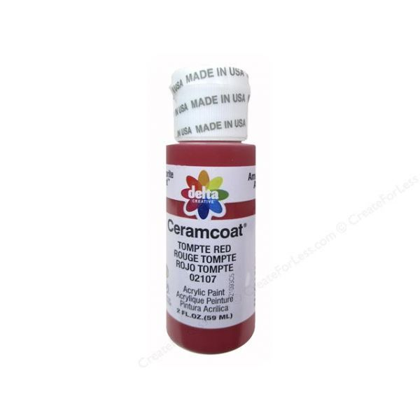 Ceramcoat Tompte Red Acrylic Paint