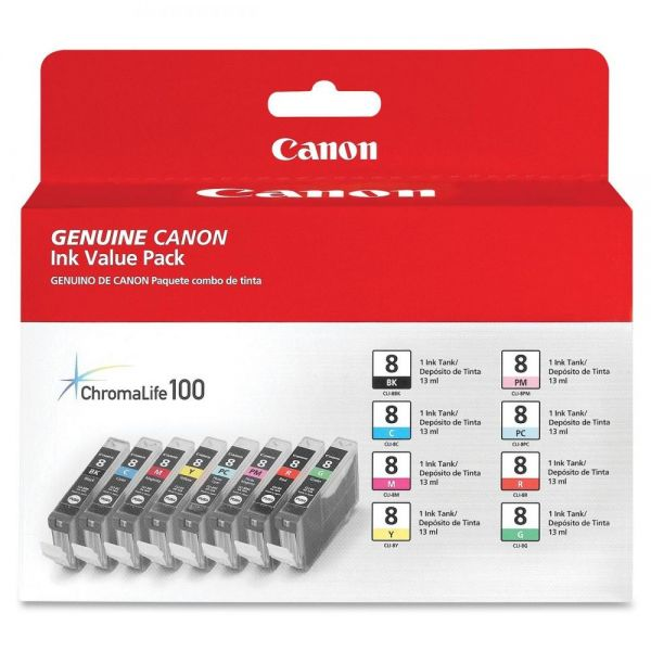 Canon CLI-8 Color Ink Cartridge Multipack