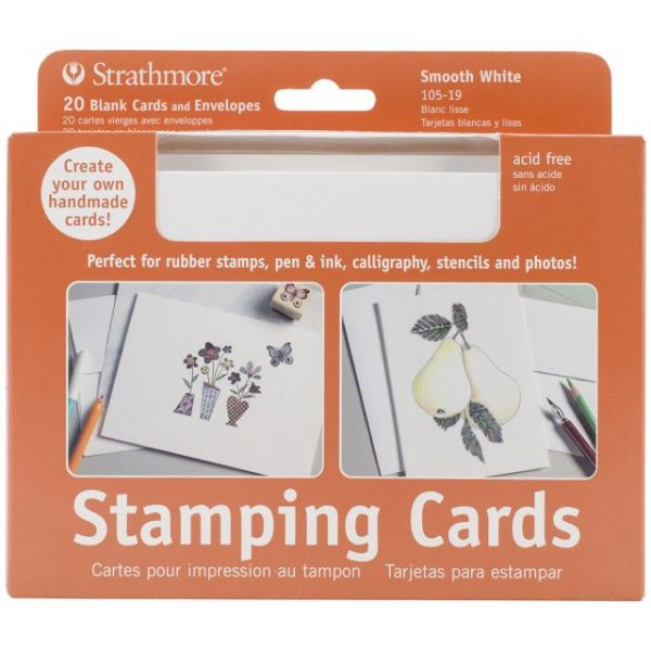 "Strathmore Cards & Envelopes 5""X6.875"" 20/Pkg"