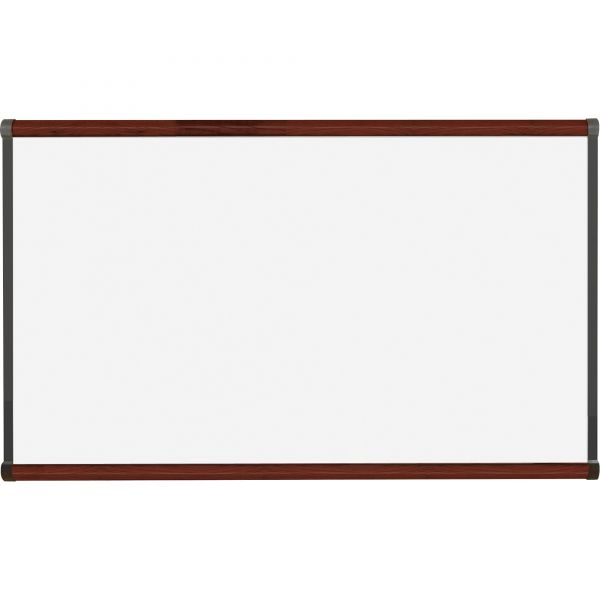 """Lorell 48"""" x 36"""" Magnetic Porcelain Dry Erase Whiteboard"""