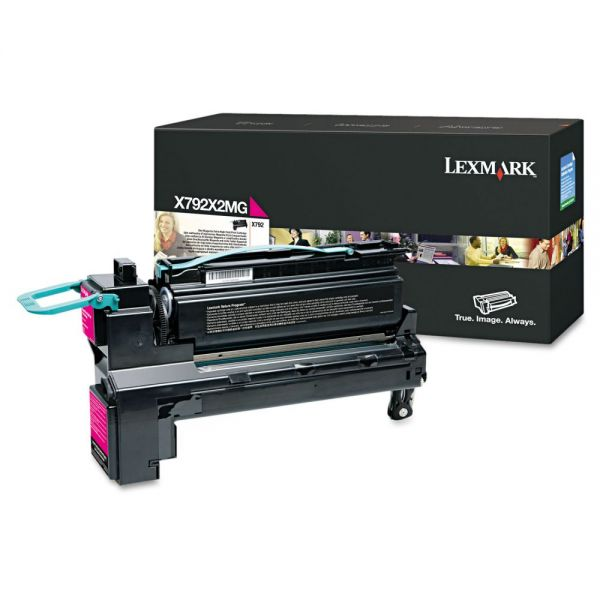 Lexmark X792X2MG Extra High-Yield Magenta Toner Cartridge