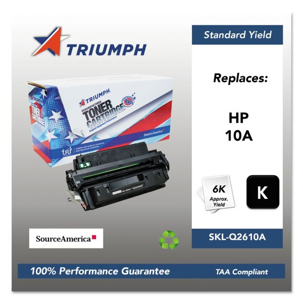 Triumph 751000NSH0176 Remanufactured Q2610A (10A) Toner, Black