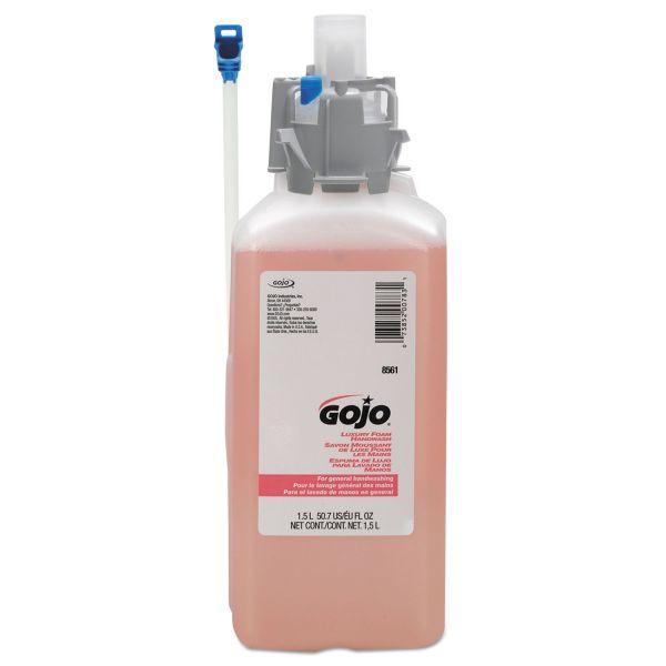 GOJO CX and CXI Luxury Foam Hand Wash, Cranberry Liquid, 1500mL Refill