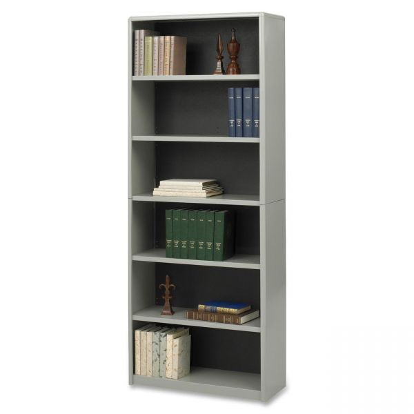 Safco ValueMate Economy 6-Shelf Steel Bookcase