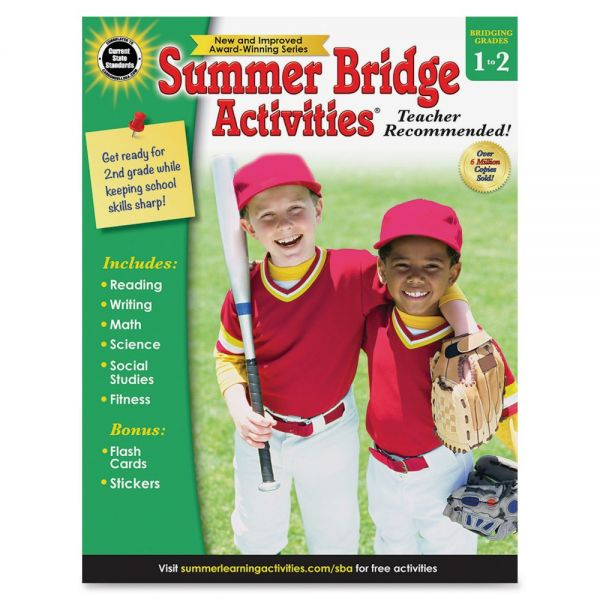 Summer Bridge Gr 1-2 Activities Workbook Activity Printed Book