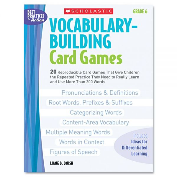 Vocabulary-Building Card Games