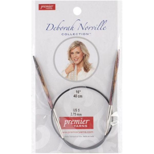 "Deborah Norville Fixed Circular Knitting Needles 16"""