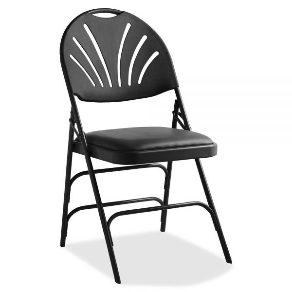 Samsonite XL Fanback Steel and Vinyl Folding Chair