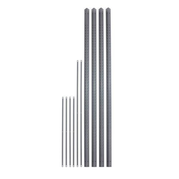 Safco Industrial Steel Shelving Posts