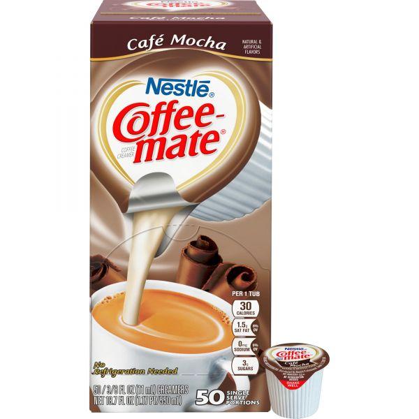 Coffee-Mate Café Mocha Liquid Coffee Creamer Cups