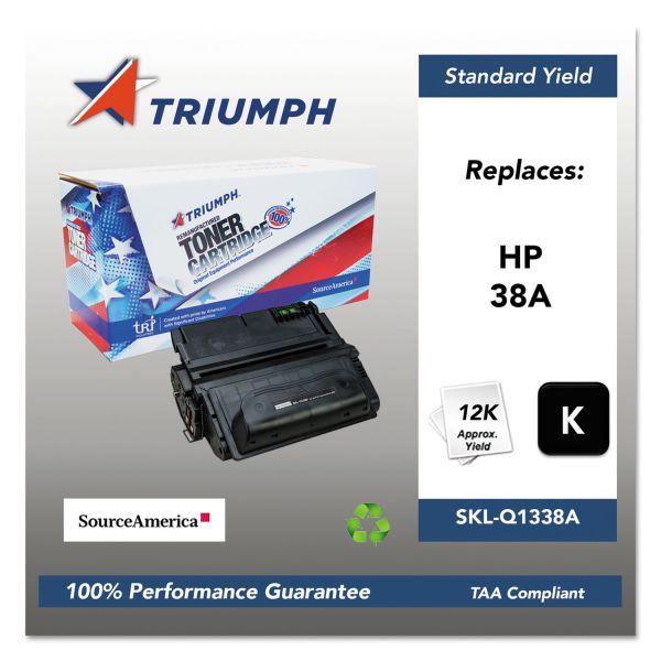 Triumph 751000NSH0179 Remanufactured Q1338A (38A) Toner, Black