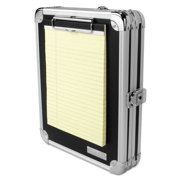 IdeaStream Locking Aluminum Storage Clipboard