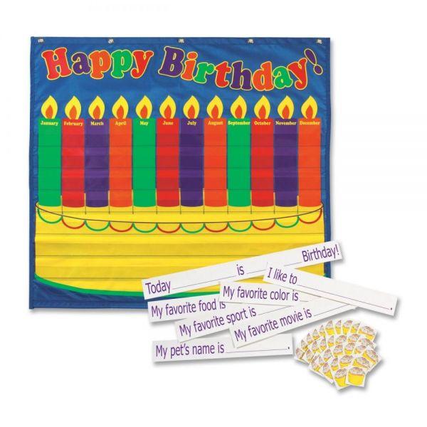 Pacon Birthday Pocket Chart