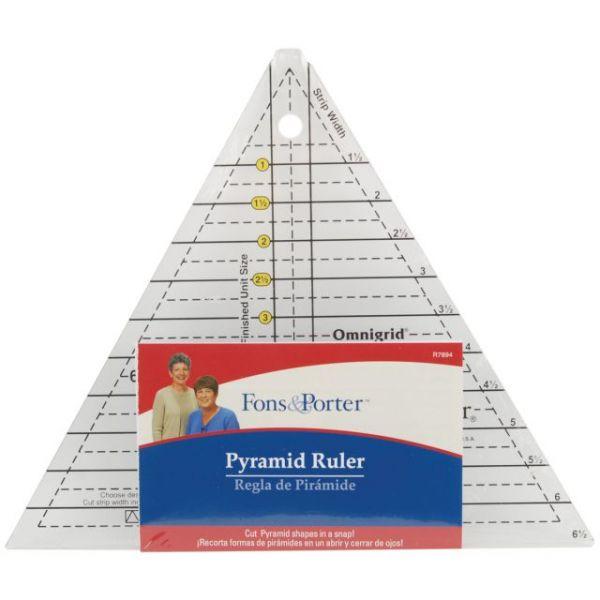 Fons & Porter Pyramid Ruler