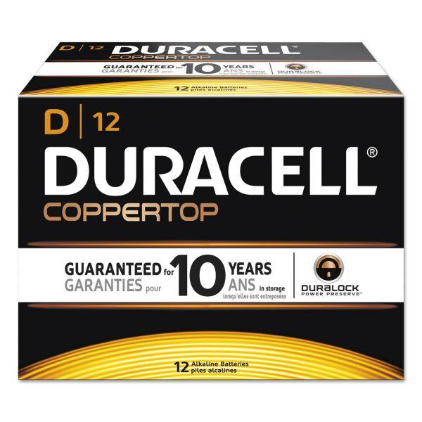 Duracell CopperTop D Batteries