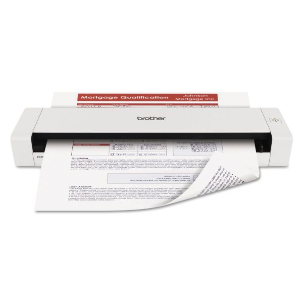 Brother DS720D Mobile Scanner with Duplex, 600 x 600 dpi