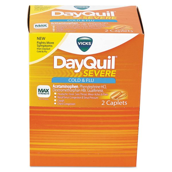DayQuil Severe Cold & Flu Caplets