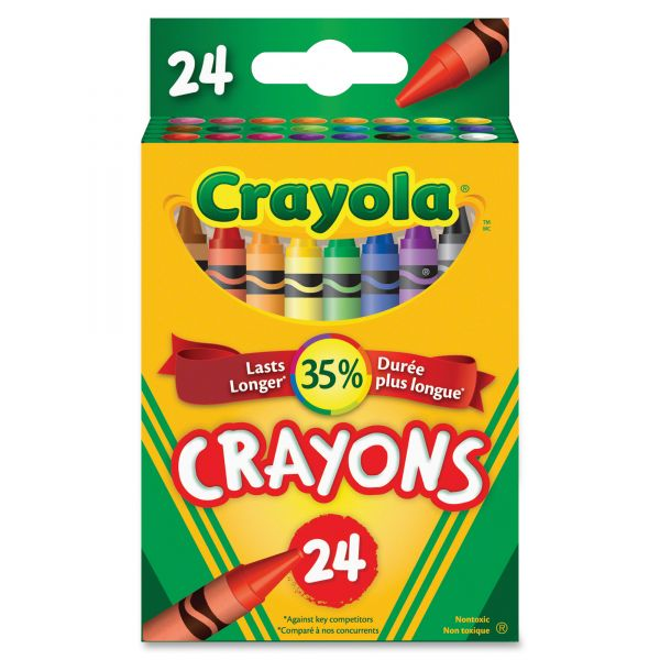 Crayola Tuck Box Crayons