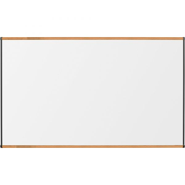 "Lorell 72"" x 48"" Magnetic Porcelain Dry Erase Whiteboard"