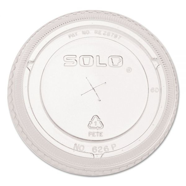 SOLO Ultra Clear Dome Cold Cup Lids