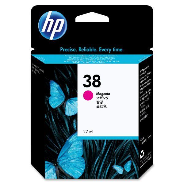 HP 38 Magenta Ink Cartridge (C9416A)