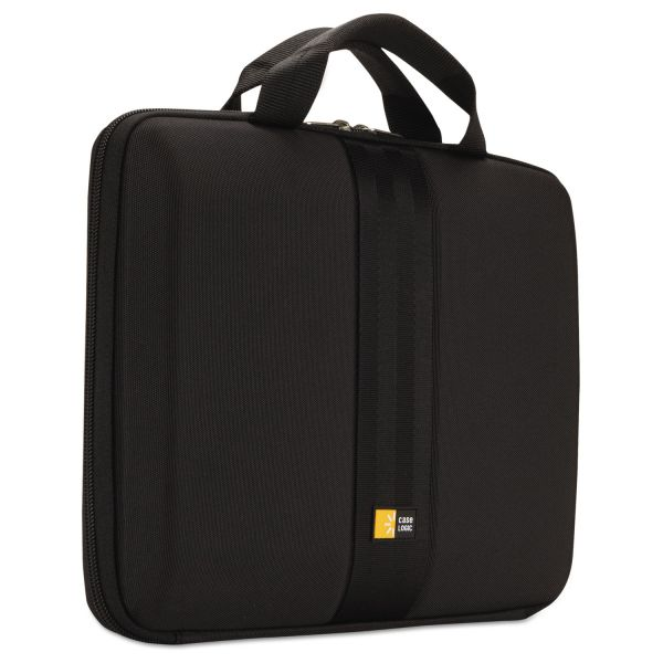 "Case Logic Laptop Sleeve for 11.6"" Chromebook/Microsoft Surface, 13 x 1 3/4 x 10 1/4, Black"