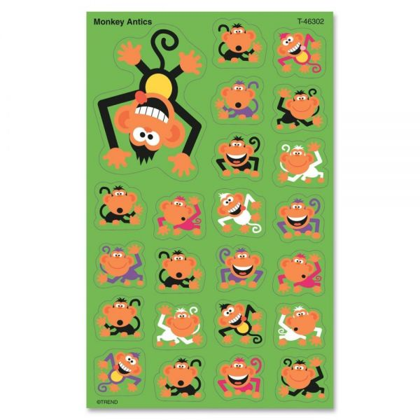Monkey Antics superShapes Stickers