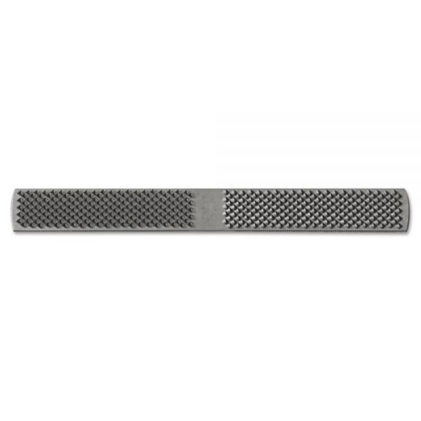 Nicholson American Pattern Rectangular Plain 1/2-Horse Rasp File, 14in