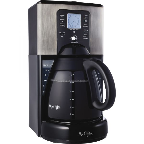 Mr. Coffee Classic Coffee 12-Cup Programmable Coffeemaker