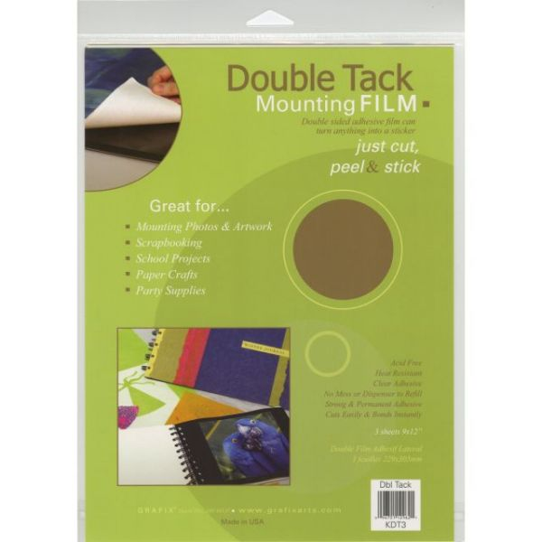 Double Tack Mounting Film