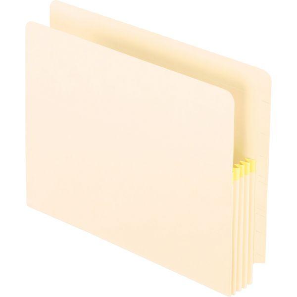 Pendaflex Convertible File, Straight Cut, 3 1/2 Inch Expansion, Letter, Manila, 25/Box