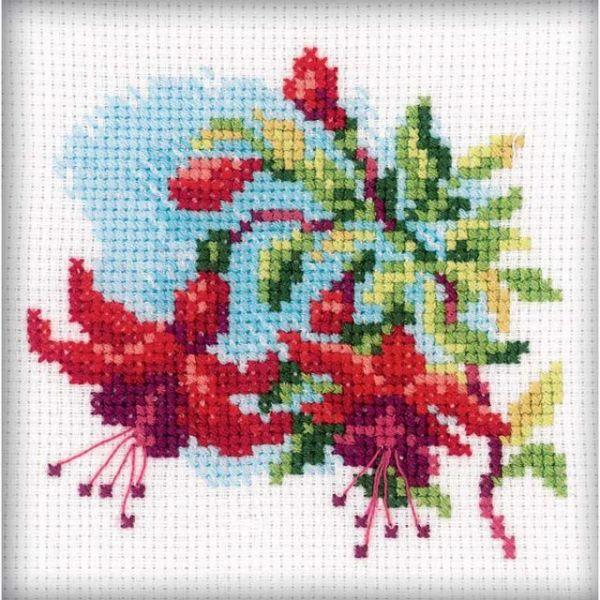 Fuchsia Counted Cross Stitch Kit