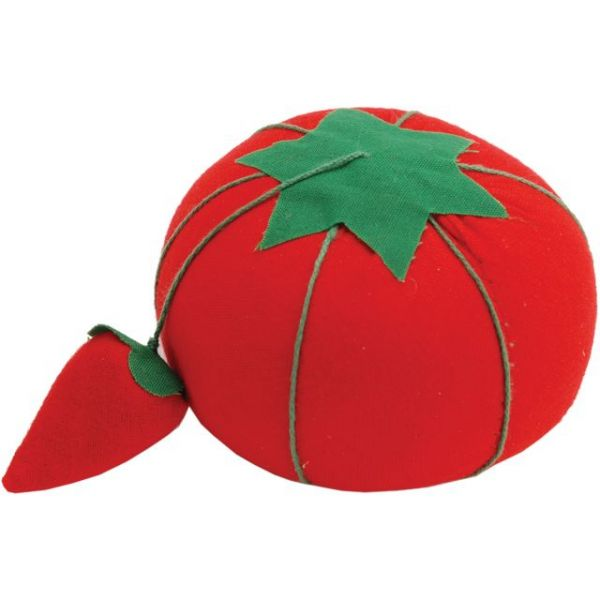 Tomato Pincushion W/Strawberry Emery