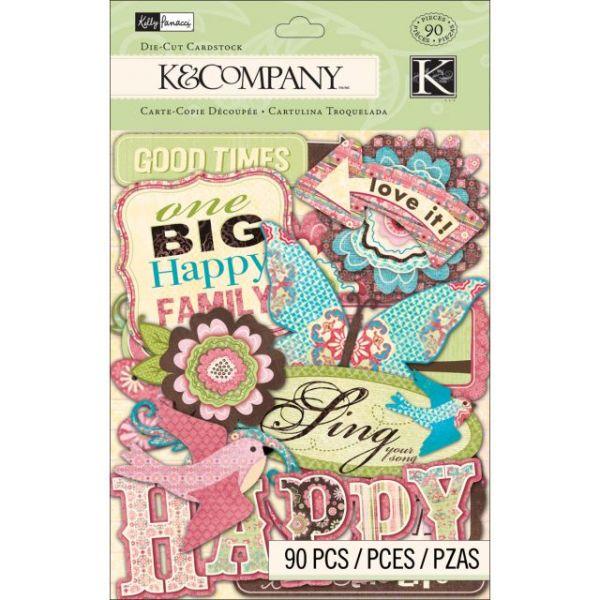 Blossom Cardstock Die-Cuts 90/Pkg