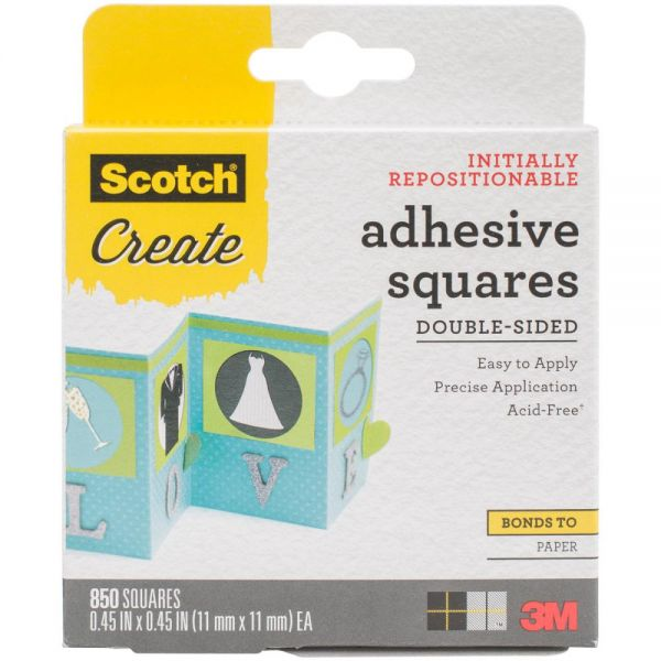 Scotch Create Adhesive Squares