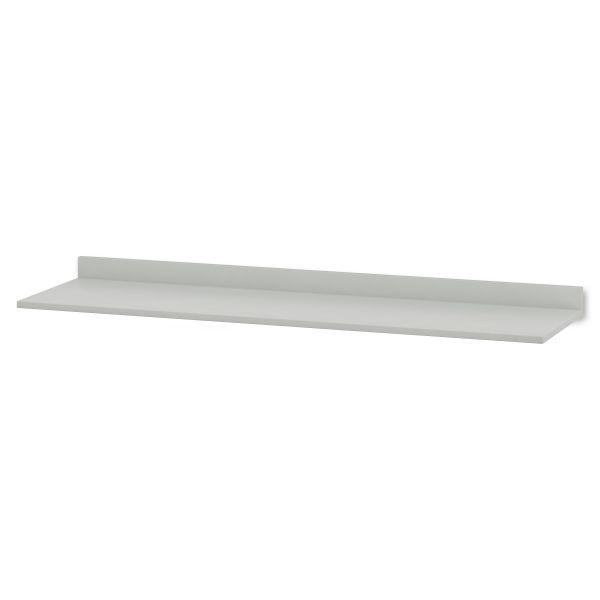HON Hospitality Cabinet Modular Countertop, 90w x 25d x 4-3/4h, Light Gray