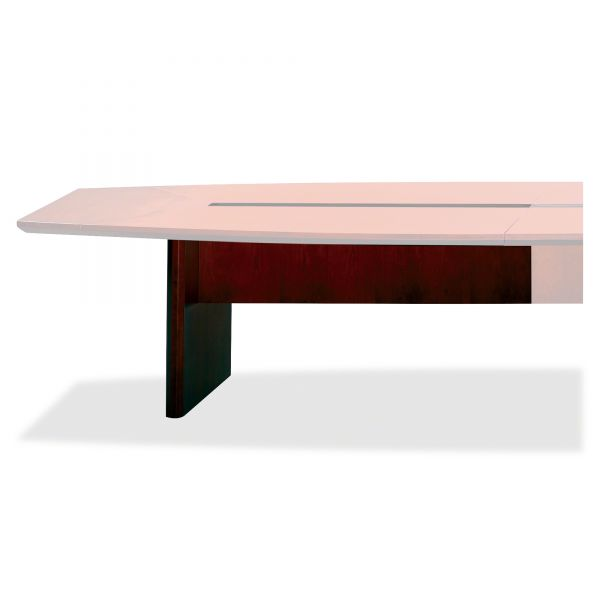 "Tiffany Industries Corsica Series 72"" Wide Starter Table Base, Mahogany"