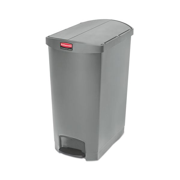 Rubbermaid Slim Jim Resin Step-On 24 Gallon Trash Can