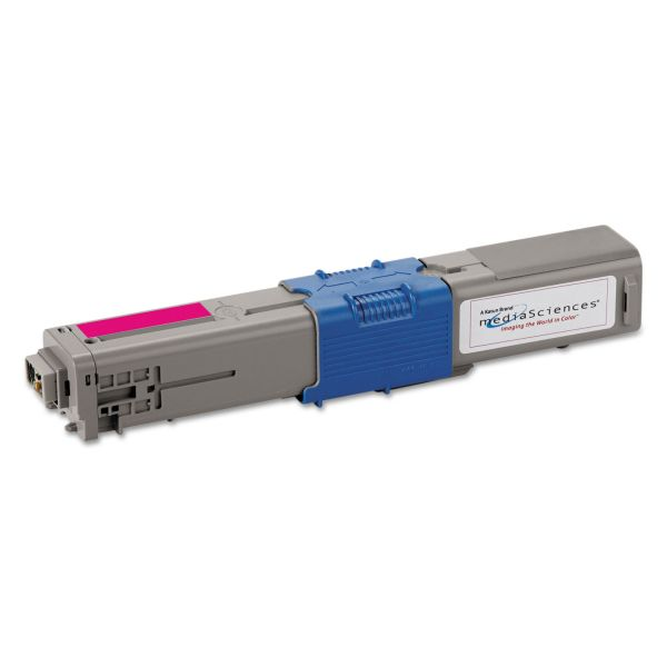 Media Sciences Remanufactured Oki 44469702 Toner Cartridge