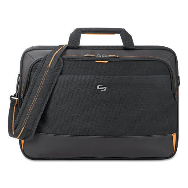 "Solo Urban Ultra Multicase, 17.3"", 17"" x 4"" x 12 1/4"", Black"