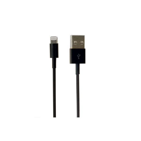 Visiontek Lightning to USB Black Charge & Sync One Meter Cable