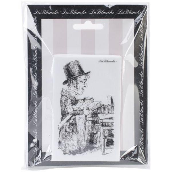 "LaBlanche Silicone Stamp 2.5""X4"""