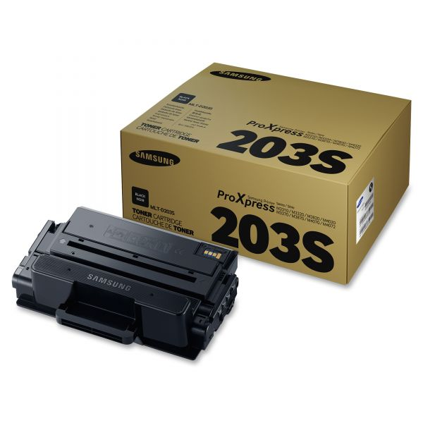 Samsung 203 Black Toner Cartridge (MLTD203S)