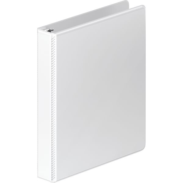 "Wilson Jones Heavy-Duty 1"" 3-Ring View Binder"