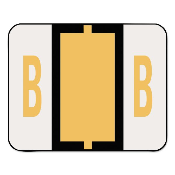 Smead BCCR Bar-Style Color-Coded Alphabetic Label - B