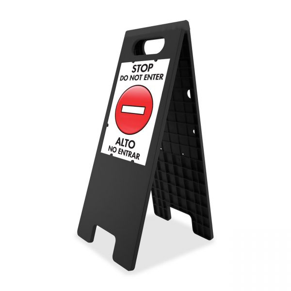 U.S. Stamp & Sign Customizable Double Sided Tent Sign