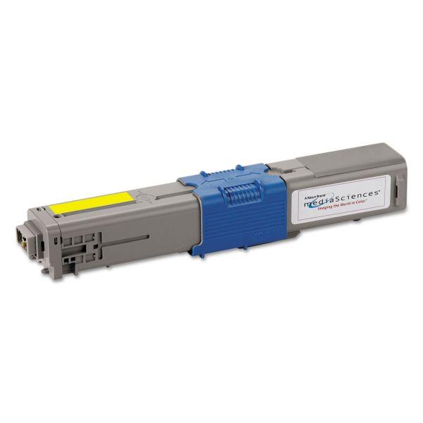 Media Sciences Remanufactured Oki 44469701 Toner Cartridge